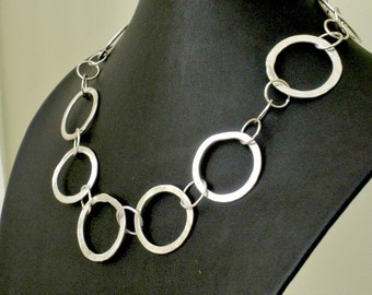 Sterling Rings Necklace