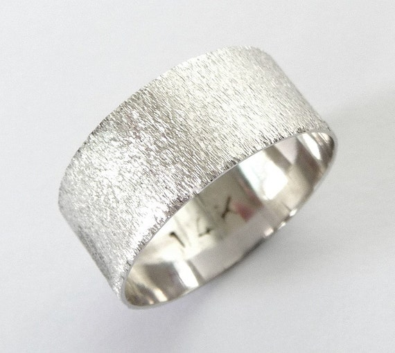 Items Similar To Mens Wedding Band Women 39 S Wedding Ring Mens White Gold W