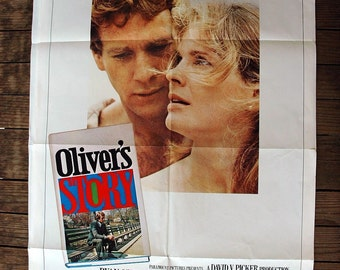 Oliver's Story VINTAGE Movie Poster