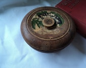 Antique Wood Shaving Soap Bowl