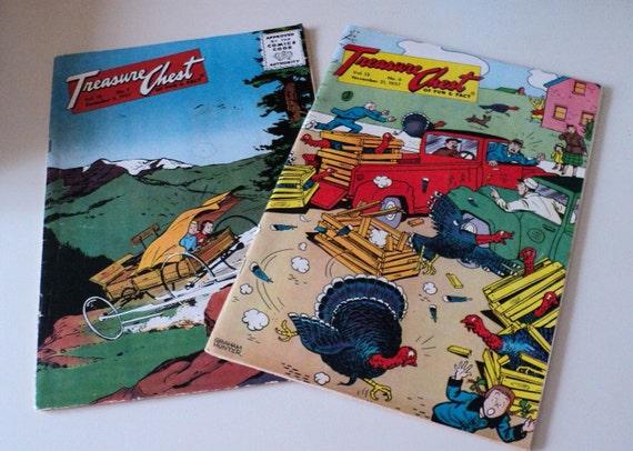 Catholic Comics Treasure Chest of Fun and Fact 1957 Anti Communist