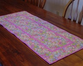 Easter Quilted Table Runner for Easter Made and Ready To Ship