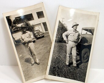 Military Photographs Uniformed Soldiers