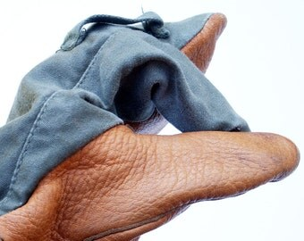 Trigger Finger Military Mittens 1953 US Army
