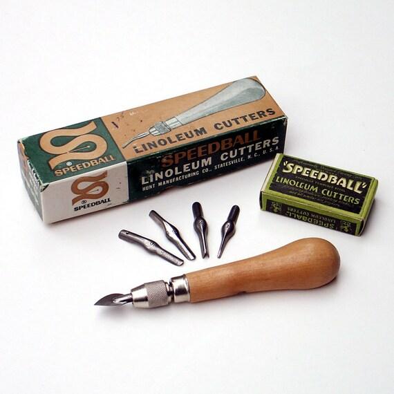 Vintage Speedball Linoleum Cutter