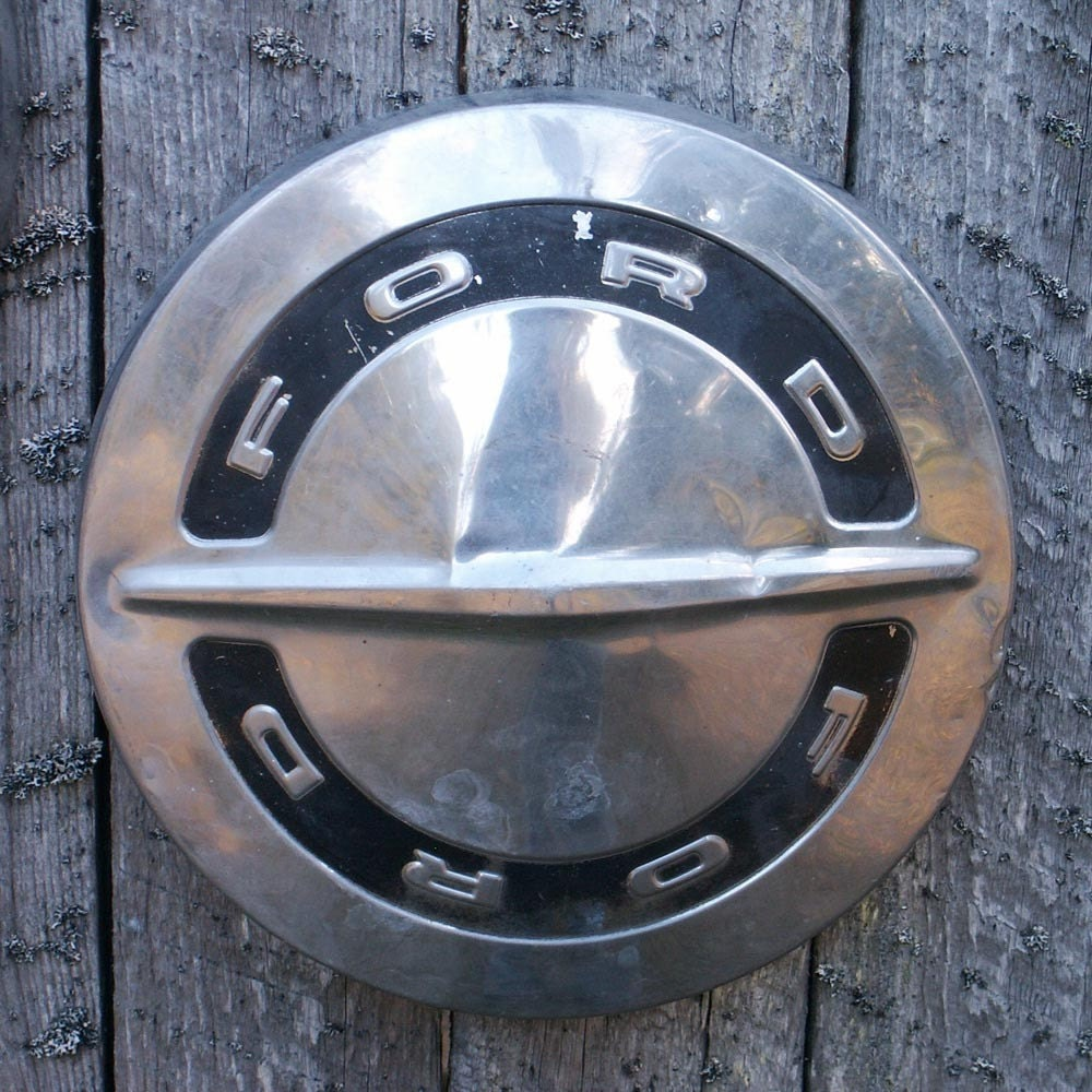 Vintage Ford Hubcaps By Ailorsattic On Etsy