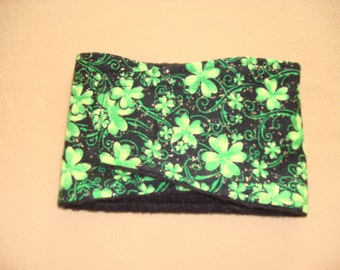 Dog Belly Band - Male Dog Diaper - St. Patrick's Day - all sizes available