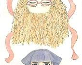 Juniper Key and the Very Serious Girl - Original Children's Book