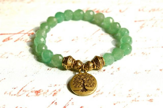 Tree of Life Aventurine Bracelet
