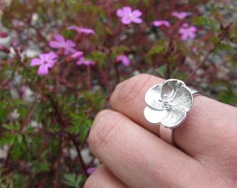 Ko'oloa'ula Sterling Silver  Ring