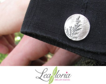 Killarney Fern Sterling Silver Cufflinks