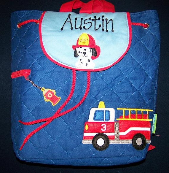 Personalized Toddler Quilted Backpack with Name Embroidered -- Click for More Options---