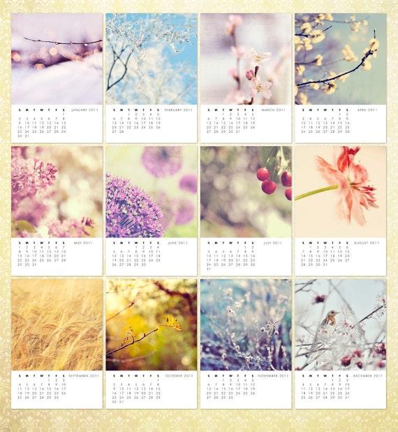 Nature - Year 2011 - Fine Art Photo Calendar