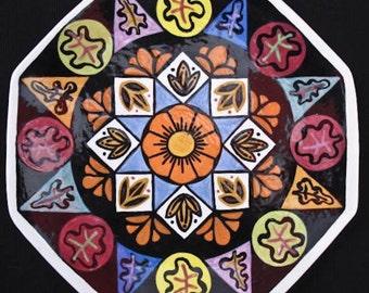 Octagonal Dinner Plate
