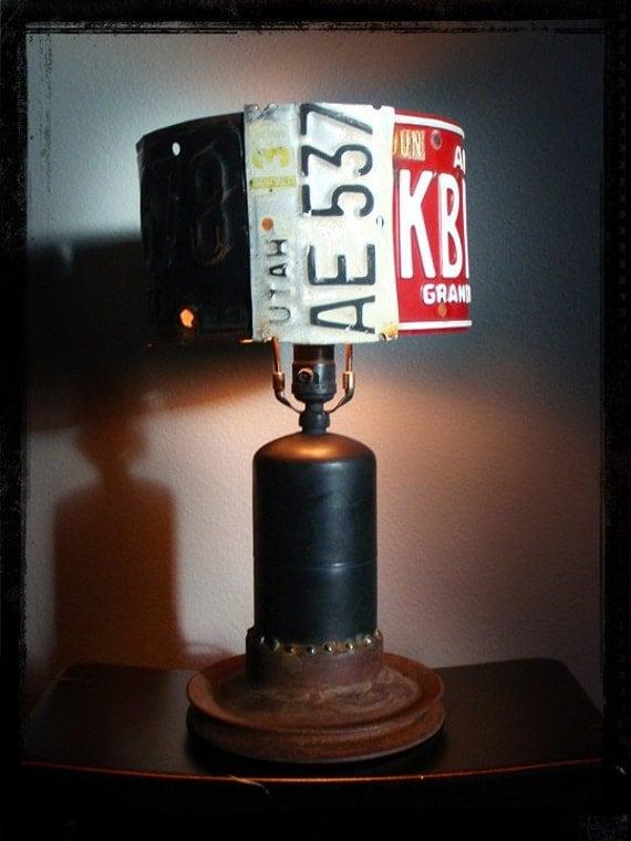 Rat Rod Lamp Light