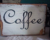 Coffee Shelf Sitter French Antique Style