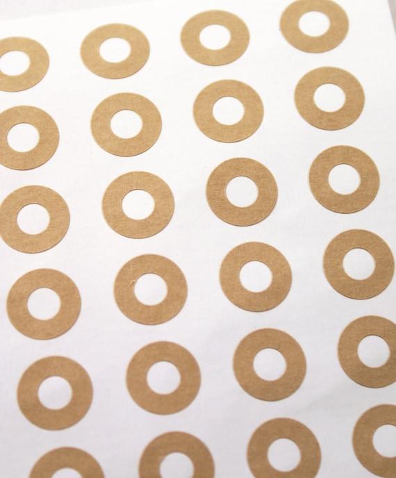 Brown Paper Reinforcement Rings