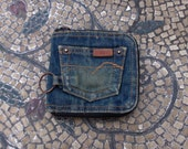 American Eagle Outfiffers Denim Wallet - Nice