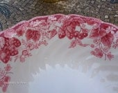 PRICE REDUCED - Antique Strawberry Fair Bowls -  Made in England by Johnson Brothers