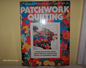 Patchwork and Quilting - Better Homes and Garden - 1970s