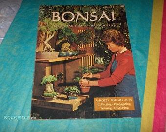 Treasury Item - Bonsai Culture and Care of Miniature Trees - 1971