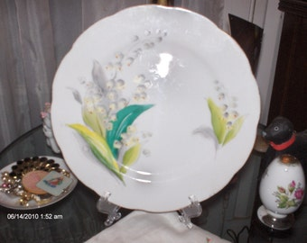 Lovely Kasuga Ware Hand Painted Plate - Japan