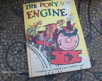 Dandelion Library 2 in Book - The Pony engine 1958 and  Bedtime Stories 1959