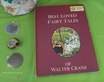 Dandelion Library 2 in 1 Book - A Child's Garden of Verses 1967 and Best Loved Fairy Tales 1967