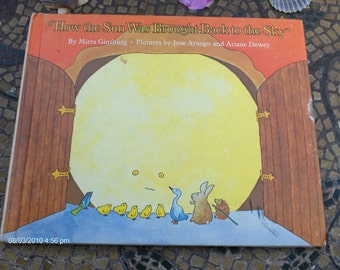 Treasury Item - How the Sun Was Brought Back to the Sky by Mirra Ginsburg - 1975