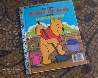 Walt Disney's Winnie the Pooh - a Little Golden Book 1980