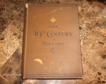 Price Reduction-The 19Th Century a History by Robert Mackenzie - 1887
