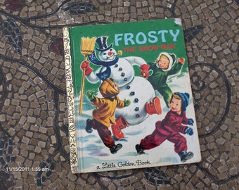 Treasury Item - Frosty the Snowman retold by Annie North Bedford a Little Golden Book - 1969