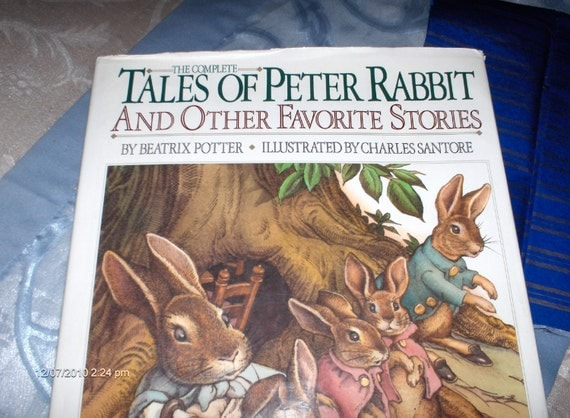 The Complete Tales of Peter Rabbit and Other Favorite Stories by Beatrix Potter - 1986