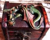 Dragon on chest