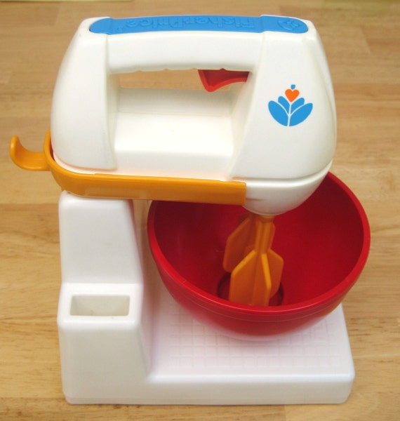 SALE Vintage Fisher Price Kitchen Mixer