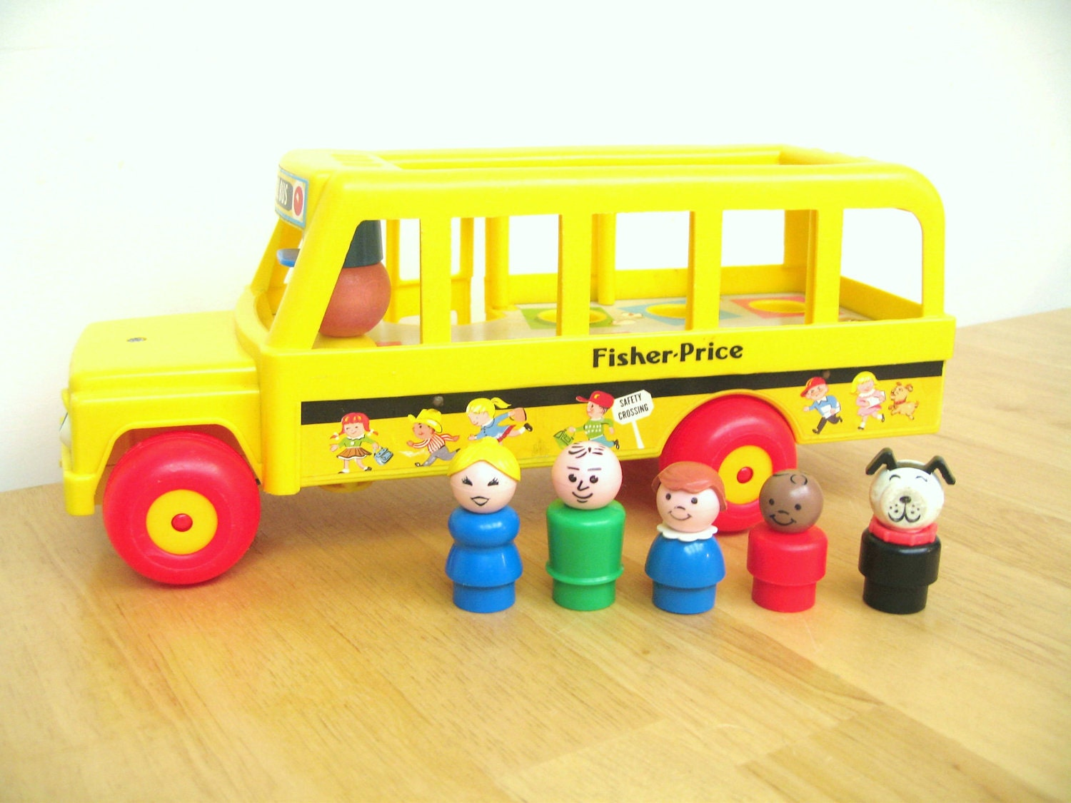 Toys For School : Reserved for julie vintage fisher price school by