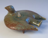 Bird of Pace and Quiet   - oil lamp