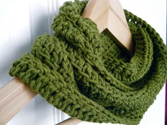 Infinitely Cotton, Cowl, Scarf, eternity scarf, Organic