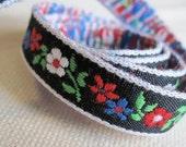Fileena's Flowers Ribbon on BLACK