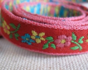 Fileena's flowers Ribbon on RED