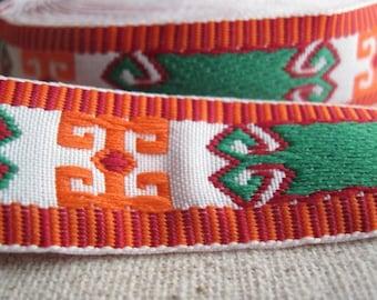 I BEAM vintage jacquard woven ribbon