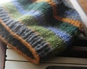 Boys Wool Knit Hat by Pink Acorn Designs