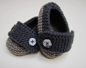 Man About Town Loafers - Baby Booties Handmade Loafers