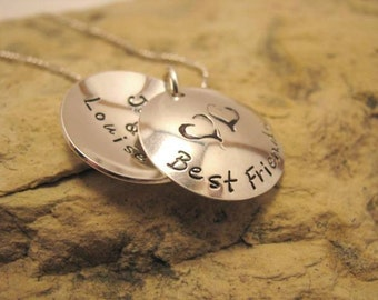 Best Friends - small locket