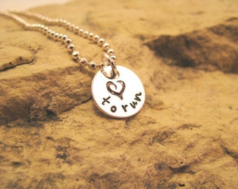love to run - sterling silver charm
