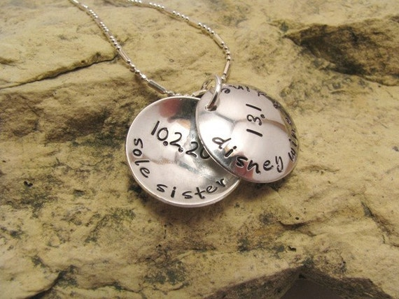 Personalized Race Locket - Sterling Silver (size small)