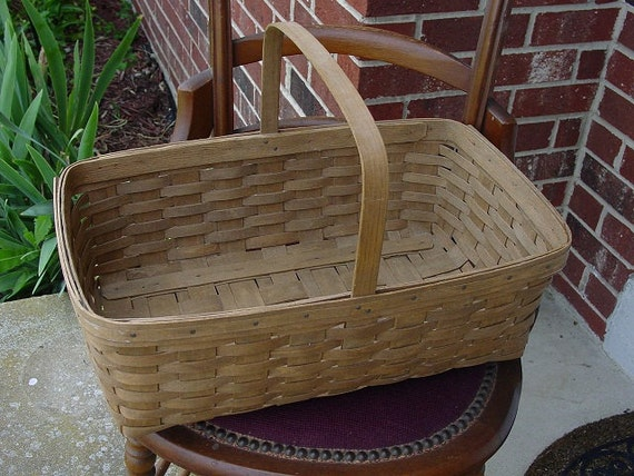 Sale vintage longaberger picnic basket 1984 Longaberger baskets for sale
