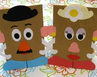 Toy Theme Birthday Party Favor Treat Sacks Goody Bags by jettabees on Etsy