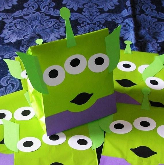 Space Alien Toy Story Buzz Lightyear Woody Theme Birthday