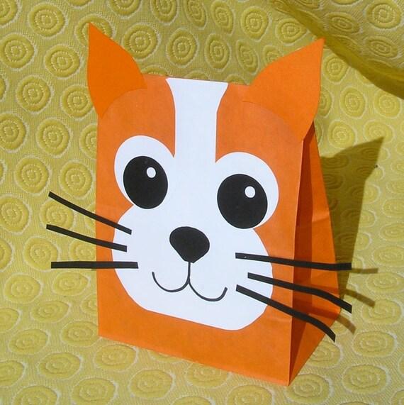Cat Treat Sacks Kitten Kitty Farm Pet Theme Birthday By